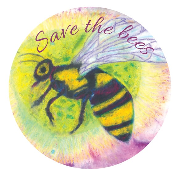 BeesWax Wraps art from love bee