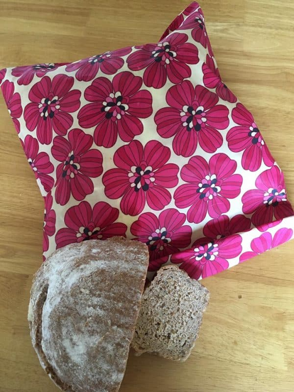 rose coloured beeswax wraps and bags from ireland