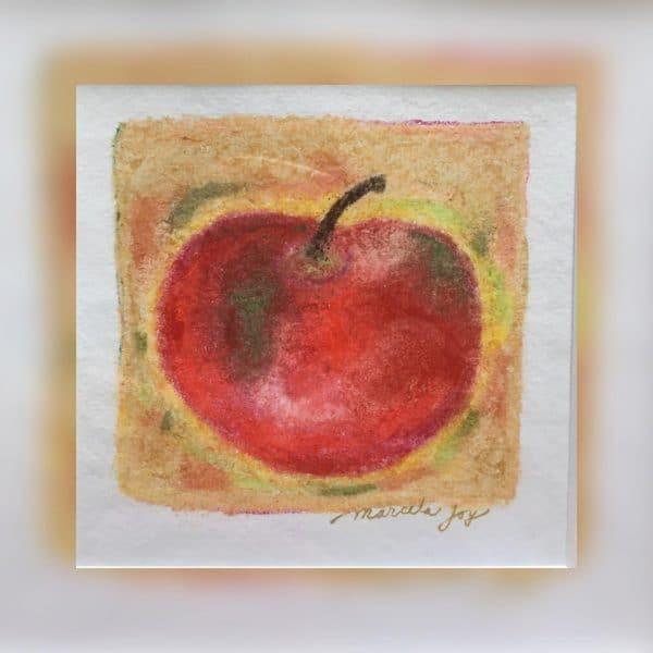 Apple art by Marcela Joy