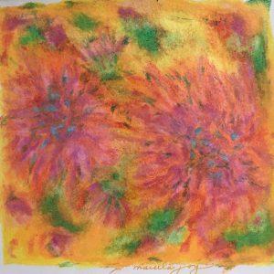 Dahlias by Marcela Joy
