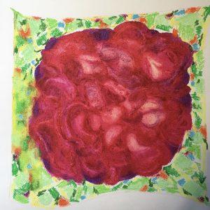 Rose in Mount Juliet art by Marcela Joy