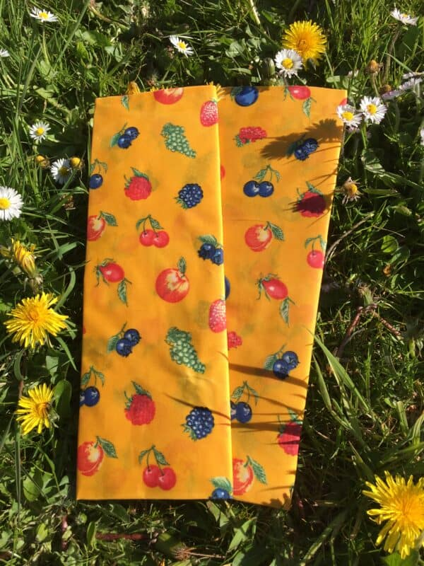 Spring Beauty beeswax wrpas and bags