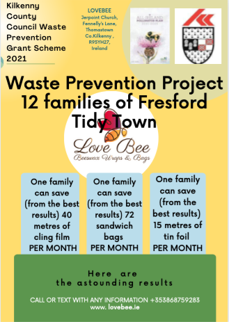 Beeswax bags and Waste prevention project